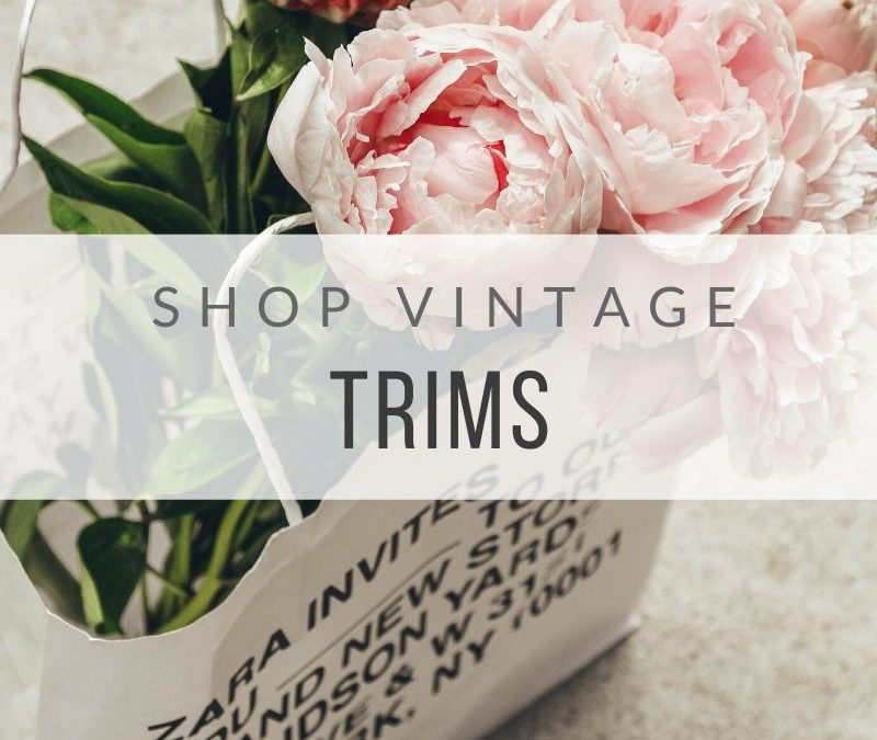 Vintage Trims for Sale